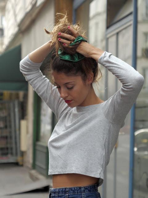 chouchou-cheveux-vert-paillette-scrunchie-is-back-1